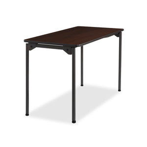 "Maxx Legroom™ Wood Folding Table, 24""x48"", 3 Colors"