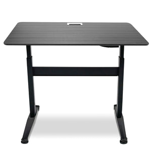 "OfficeWorks™ Pneumatic Adjustable Height Desk, 59"" x 29"", 2 Finishes"