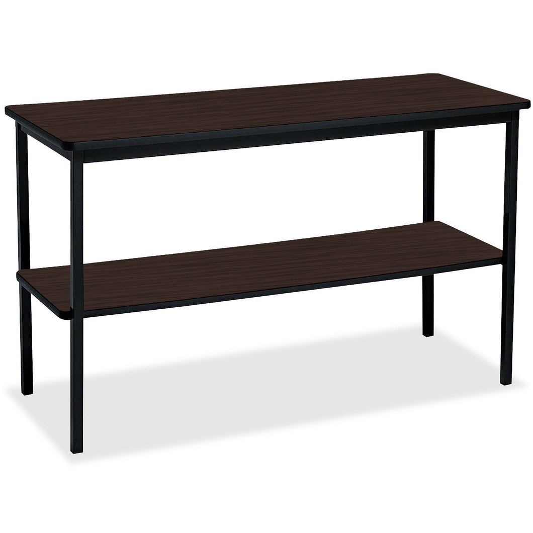 OfficeWorks™ Double Shelf Utility Table, 18