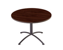 "iLand Edgeband Café Table, 42"" Round, 2 Finishes"