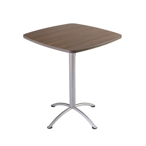 "iLand Edgeband Bistro Table, 36"" Square, 2 Finishes"