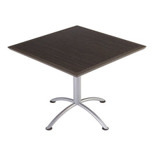"iLand Urethane Café Table, 36"" Square, 2 Finishes"