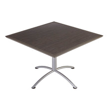 "iLand Urethane Café Table, 42"" Square, 2 Finishes"