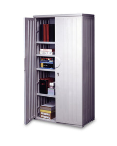 "OfficeWorks 72"" Storage Cabinet,  2 Colors"