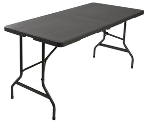 "IndestrucTable TOO™ Bi-Fold Folding Table, 30""x 60"", 2 Colors"