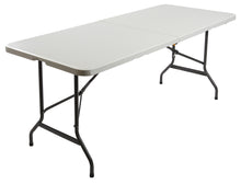 "IndestrucTable® Classic Bi-Fold Folding Table, 30""x 72"", 2 Colors"