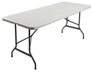 "IndestrucTable TOO™ Bi-Fold Folding Table, 30""x72"" 2 Colors"