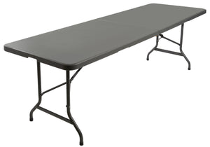 "IndestrucTable TOO™ Bi-Fold Folding Table, 30""x 96"", 2 Colors"