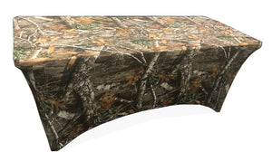 Stretch Fabric Table Cover, 6ft. Table, RealTree® Edge™ Pattern