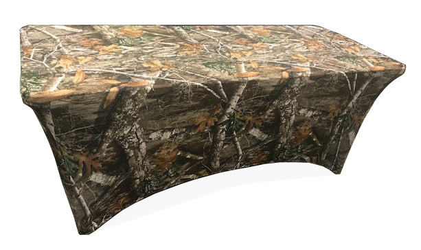 Stretch Fabric Table Cover 6ft. Table RealTree® Edge™ Pattern  sc 1 st  Iceberg Enterprises & Stretch Fabric Table Cover 6ft. Table RealTree® Edge™ Pattern ...