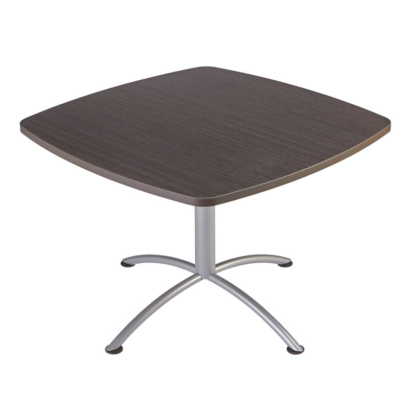 Iceberg iLand Café Edgeband Table, 42