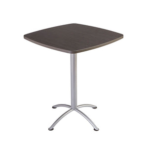 "iLand™ Edgeband Bistro Table, 36"" Square, 2 Finishes"