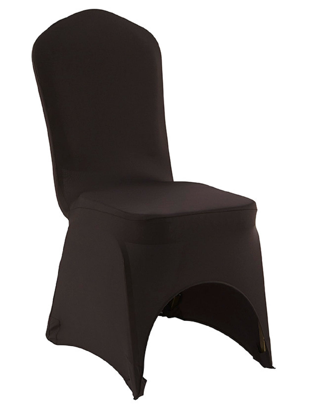 iGear™ Stretch Fabric Banquet Chair Cover, Black