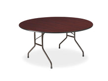 "Premium Laminate Folding Table, 60"" Round, 2 Finishes"