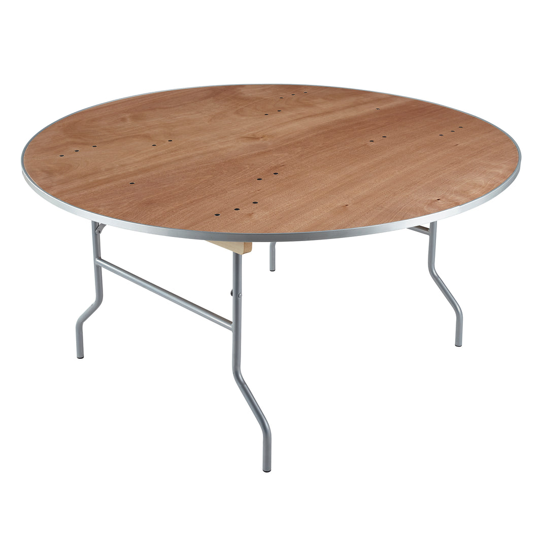 Iceberg Plywood Banquet Folding Table, 60