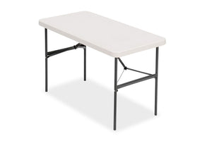 "IndestrucTable TOO,  24""x48"" Banquet Series Folding Table,  Platinum"