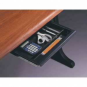 Desk Utility Drawer, Charcoal