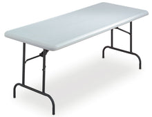 "IndestrucTable® Industrial Folding Table, 30""x 72"", 2 Colors"