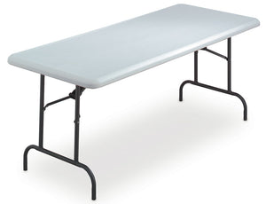 "IndestrucTable TOO™ Commercial Grade Folding Table, 30""x 72"", 2 Colors"