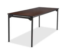 "Maxx Legroom™ Wood Folding Table, 30""x72"" , 2 Colors"