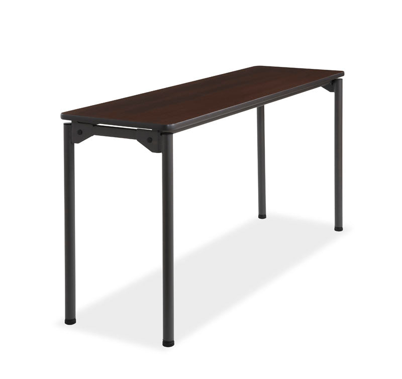 Maxx Legroom Wood Folding Table, 18