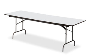 "Premium Laminate Folding Table, 30""x96"", 3 Finishes"