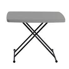 "IndestrucTable® Classic Personal Folding Table, 20""x 30"", 2 Colors"