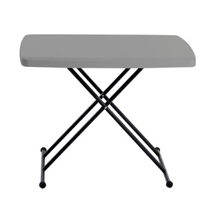 "Personal Folding Table, 20""x 30"", 2 Colors"