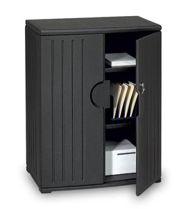 "OfficeWorks 46"" Storage Cabinet, 2 Colors"