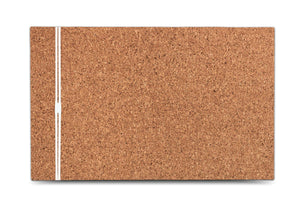 Designer Cork Frameless Bulletin Board, with Band, 3 sizes.