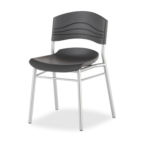 CaféWorks Café Chairs, 2-Pack, Graphite