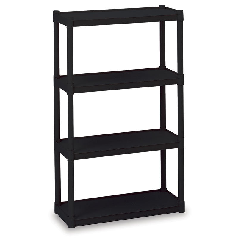 Rough n Ready® 4-Shelf Open Storage Unit, 2 Colors