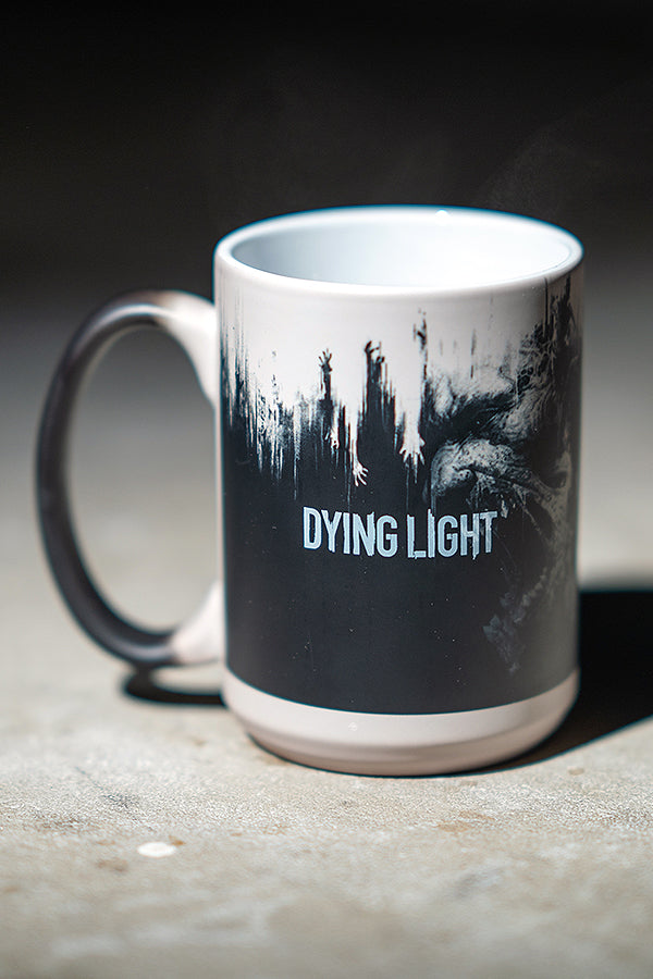 Dying Light 1 Heat Change Mug warmed