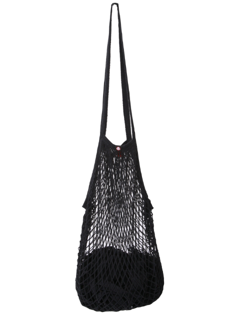 Ørskov & Co. - String bag, LONG HANDLE - BLACK