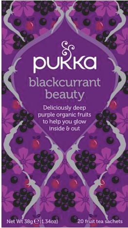Pukka Te - Blackcurrant Beauty tea - Øko & FairWild