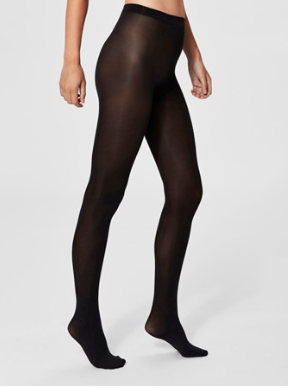 Selected Femme - Black tights