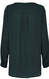 Selected Femme - Dynella Shirt - Scarab green
