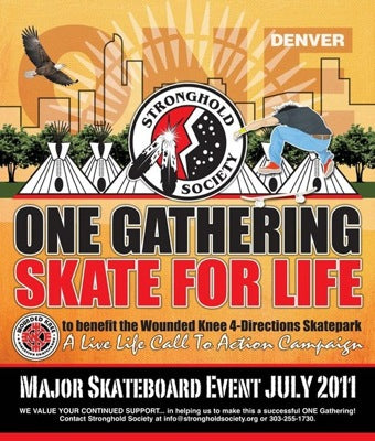 Skateboarding event in Denver, CO, hopes to bring Native youth together
