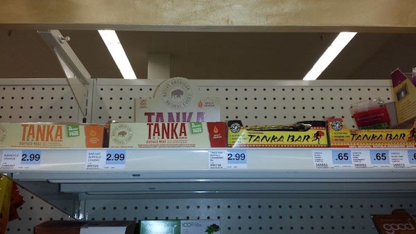 Tanka spotted at Hy-Vee store in Peoria, Illinois