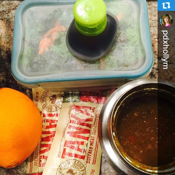 Clean-eating mom chooses Tanka for her son's lunchbox