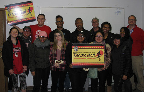 Tanka Bars are the first stop for the St. John's University students