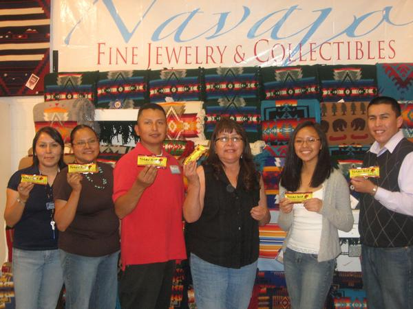 Navajo Fine Jewelry and Collectibles shows support for Tanka Bar