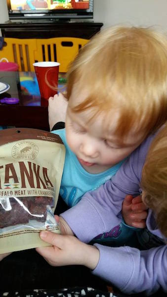 Tanka Bites Slow Smoked Original a hit with youngsters
