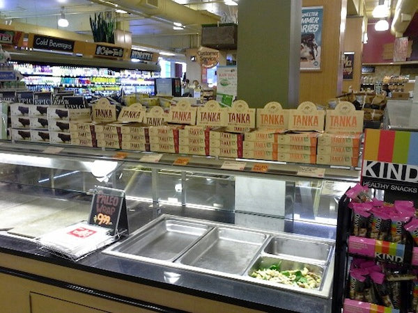 Find Tanka in the deli department at Whole Foods in San Francisco