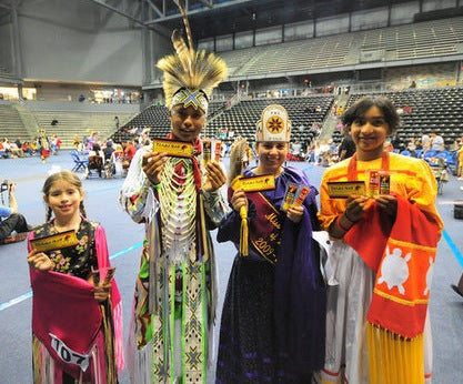 A Tanka sur-prize at Dallas student pow wow