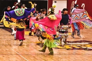Youth pow wow and handgames event honors Lakota history