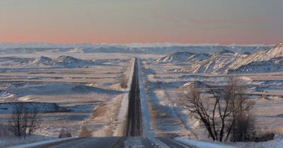 Photographer and travel enthusiast documents snowy trip to Kyle, SD