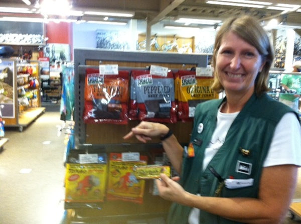 Round Rock REI staffer proves to be a big fan of Tanka Bar