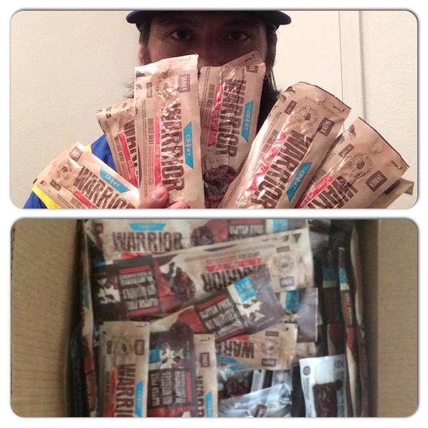 Healthy Active Natives founder fuels up with Warrior Bars
