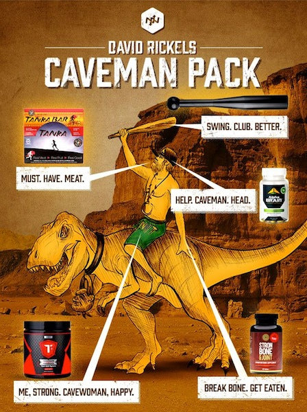 Caveman-inspired fitness deal includes Tanka